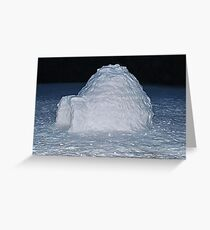 The Igloo Greeting Card