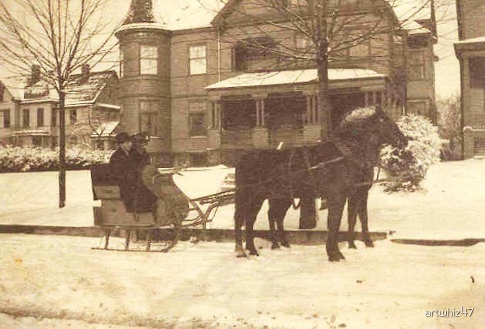 A Late-Victorian Winter ~ Tonawanda, NY by artwhiz47