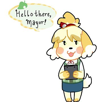 ACNL - Hello there, mayor! by wanidere