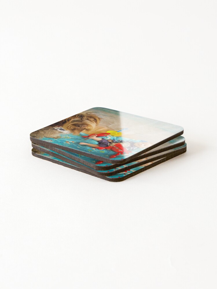 Alternate view of CRABBY Coasters (Set of 4)