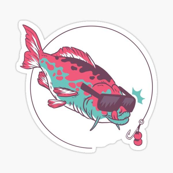 Carp, fish, koi, boilies, fish, fishing Sticker