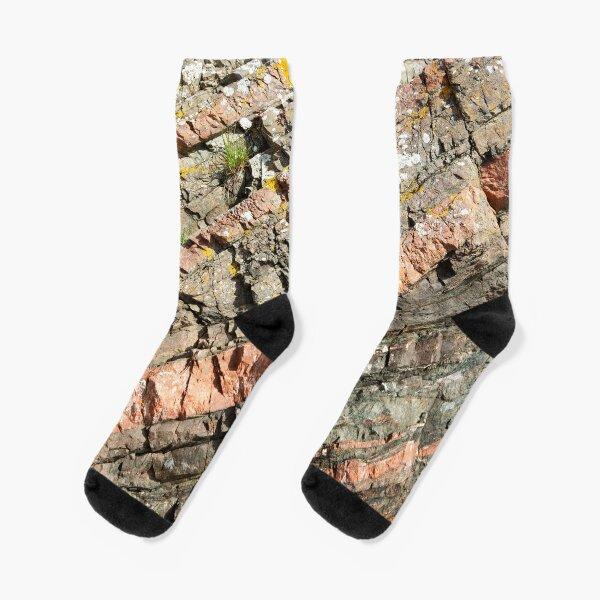 A slice of geology Socks