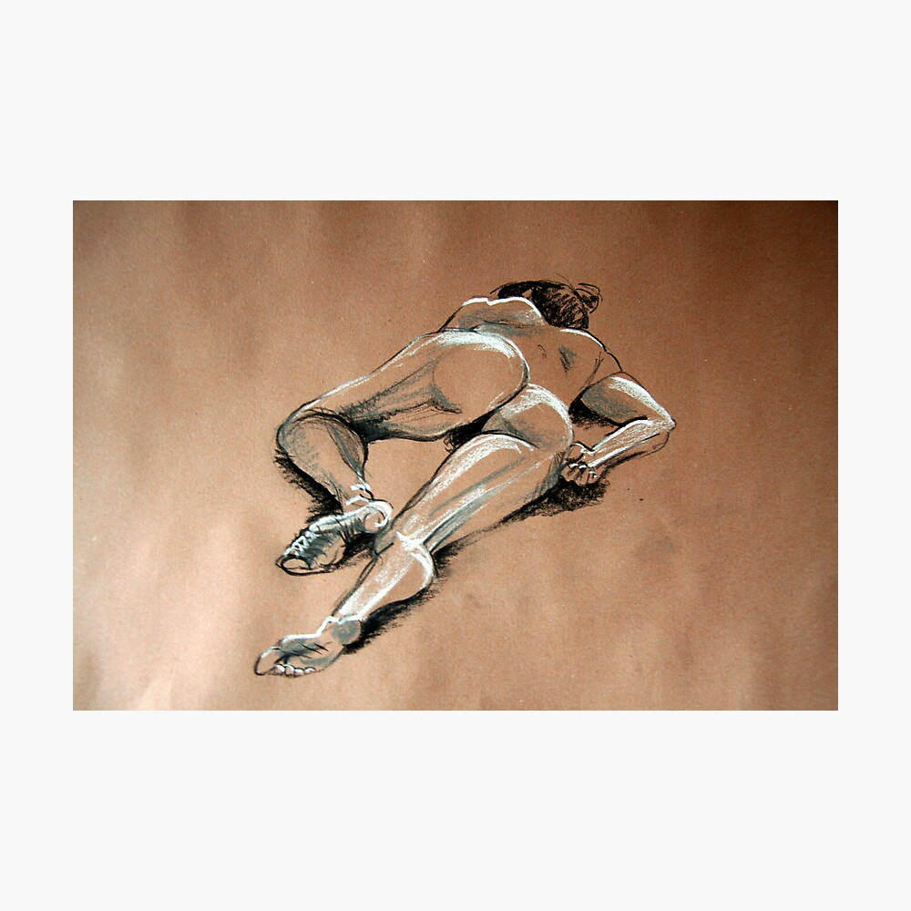 Reclining female nude #1 Photographic Print