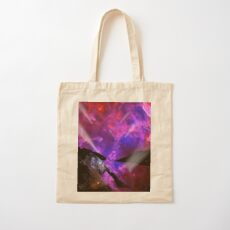 Asteroid Showers over Bow Fiddle Rock Cotton Tote Bag