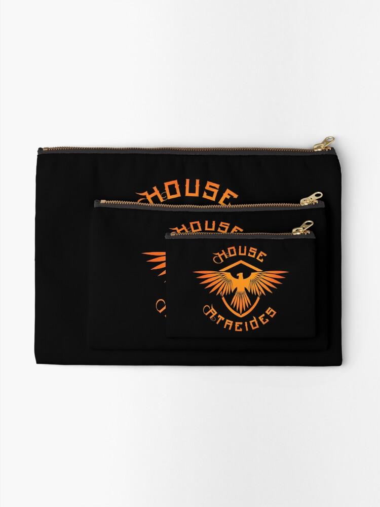 Alternate view of House Atreides Zipper Pouch