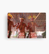 Amazon Negro River Indians Ritual Metal Print