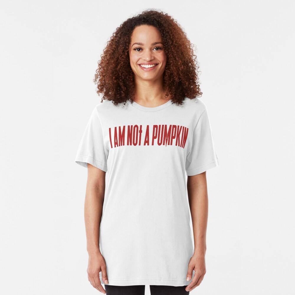 NDVH I am not a pumpkin Slim Fit T-Shirt
