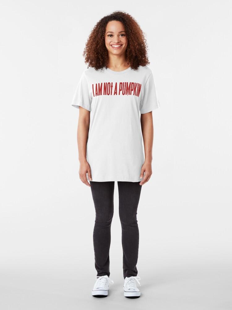 Alternate view of NDVH I am not a pumpkin Slim Fit T-Shirt