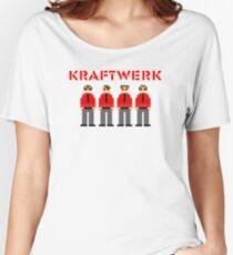 Kraftwerk 8-bit Women's Relaxed Fit T-Shirt