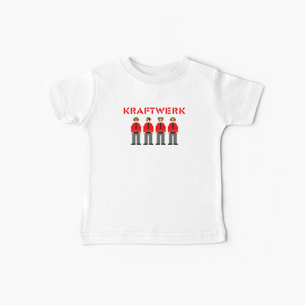Kraftwerk de 8 bits Camiseta para bebés