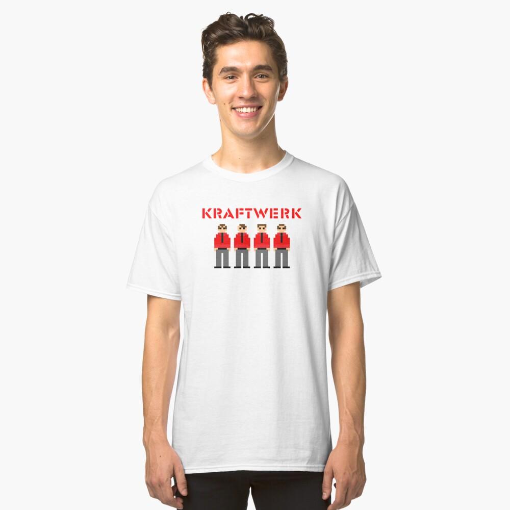 Kraftwerk de 8 bits Camiseta clásica