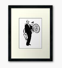 Bike Thief Framed Print