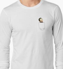 Retarded Jimmy in pocket Long Sleeve T-Shirt