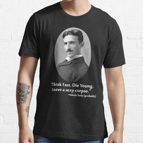 Sexy Tesla 01 Essential T-Shirt