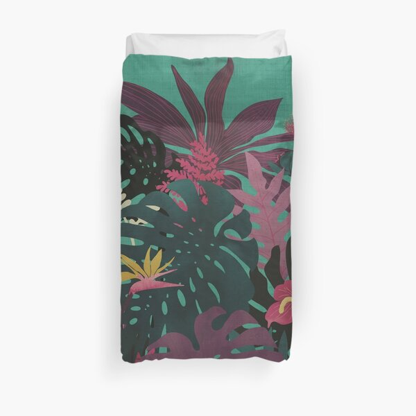 Tropical Tendencies Duvet Cover