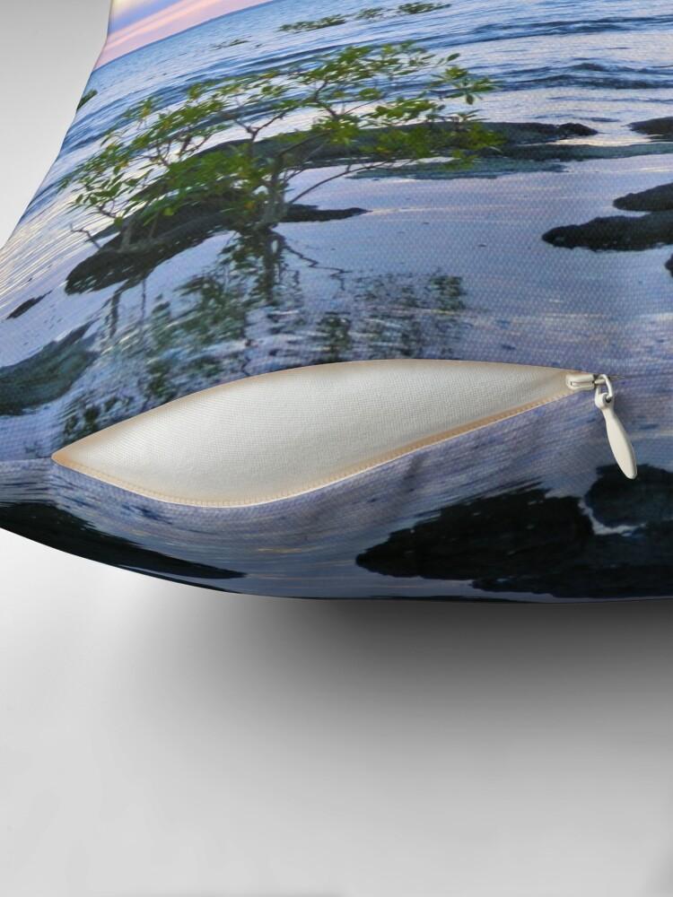Alternate view of Nightcliff Sunset Throw Pillow
