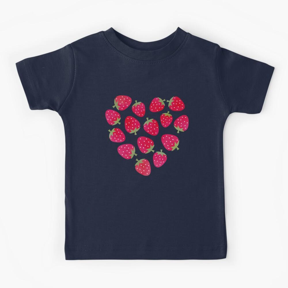 Strawberries and Chocolate Kids T-Shirt