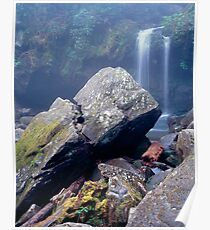 Grotto Falls Poster