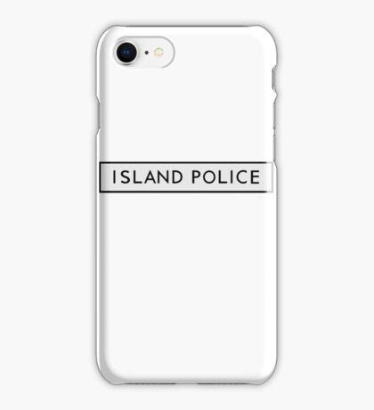 Island Police (moonrise kingdom) iPhone Case/Skin