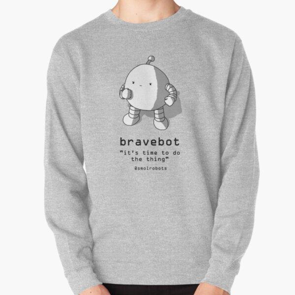 Bravebot Pullover Sweatshirt