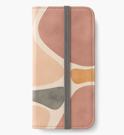 Pottery Shapes #redbubble #abstractart iPhone Wallet
