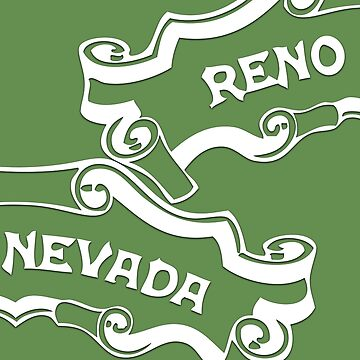 Reno Nevada (split familiar logo) by stevebo77