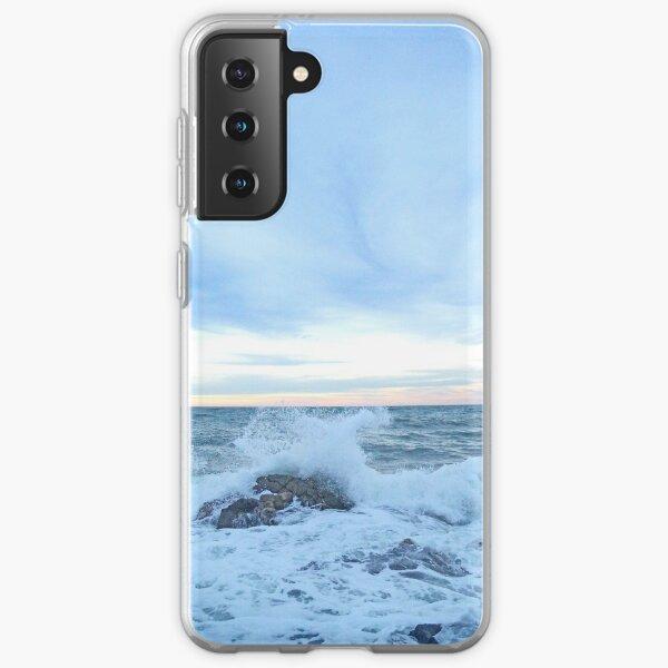 Dark pastel sea Samsung Galaxy Soft Case