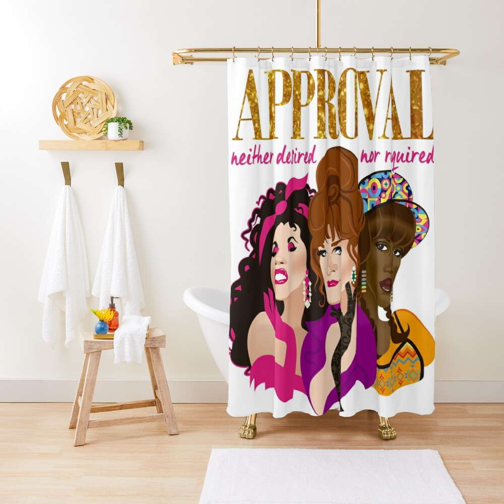 Approval not required Shower Curtain