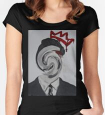 Faceless Moriarty Women's Fitted Scoop T-Shirt