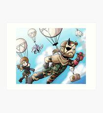 Metal Gear Solid V Art Print