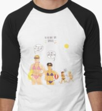 First summertime at the Survey Corps Men's Baseball ¾ T-Shirt