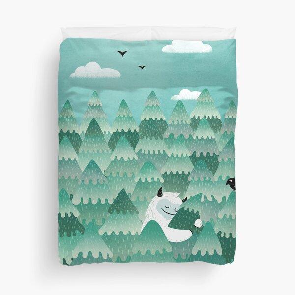 Tree Hugger (Spring & Summer version) Duvet Cover