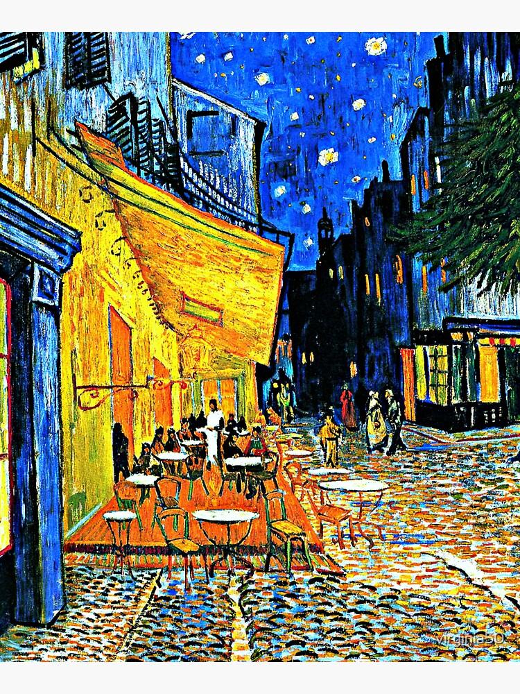 Van Gogh - Cafe Terrace, Place du Forum, Arles by virginia50