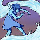 Lapis Lazuli - Waterbender by N E T H A R T I C