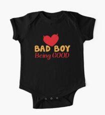 Bad boy being good One Piece - Short Sleeve