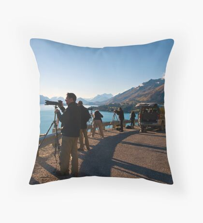 Everybody's Doing It . . . .  Throw Pillow