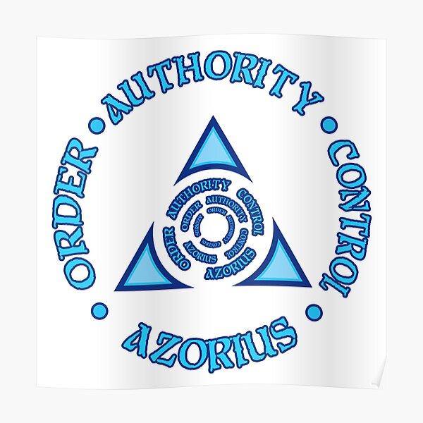 Azorius Ideology Poster