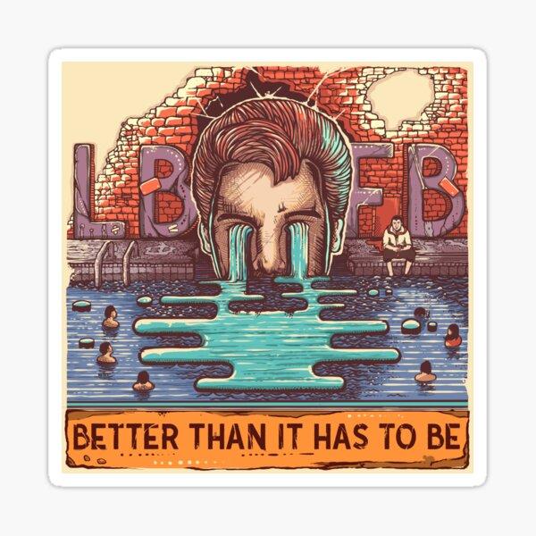 LBFB - BTIHTB Full Sticker