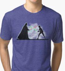 Vader Luke duel Tri-blend T-Shirt