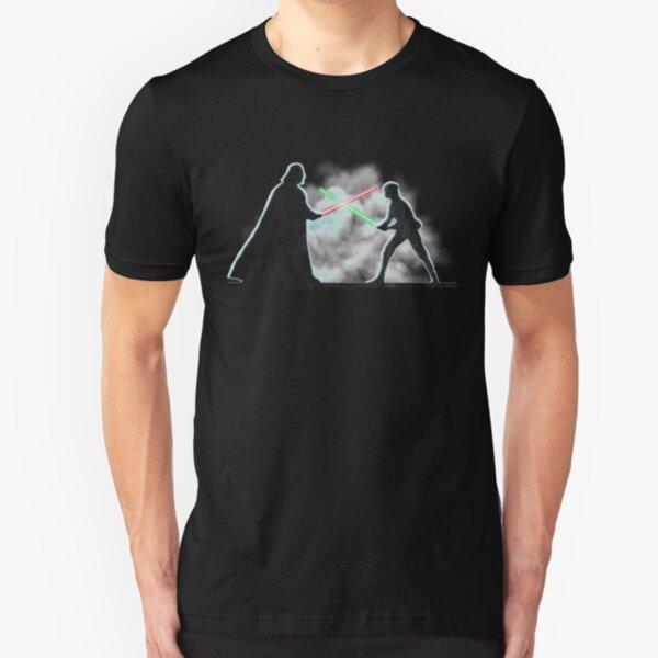 Vader Luke duel Slim Fit T-Shirt