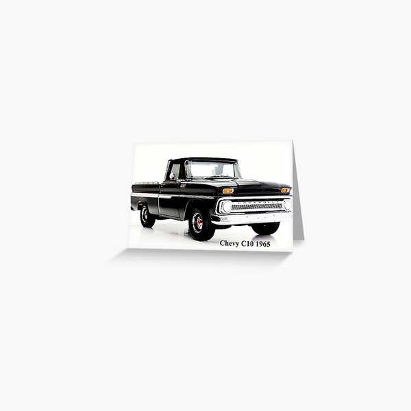 Chevy C10 1965 Greeting Card