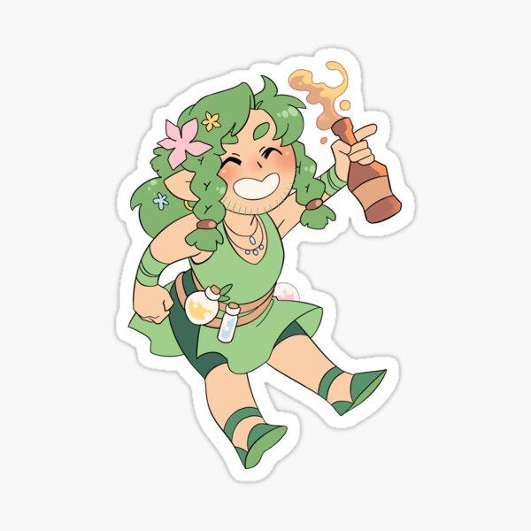 Ava Green Sticker
