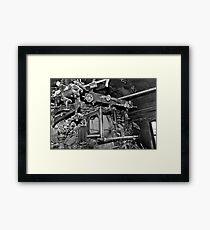 Valves and Handles Framed Print