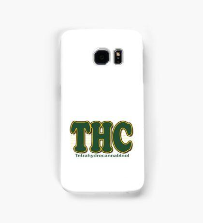 THC Cannabis Samsung Galaxy Case/Skin