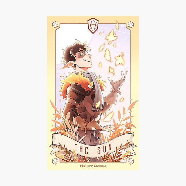 HHLR Tarot - Paddy Whitlaw Photographic Print
