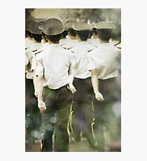 walk with deliberation Photographic Print