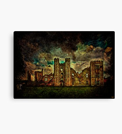 A Stately Home for Ghosts? Canvas Print