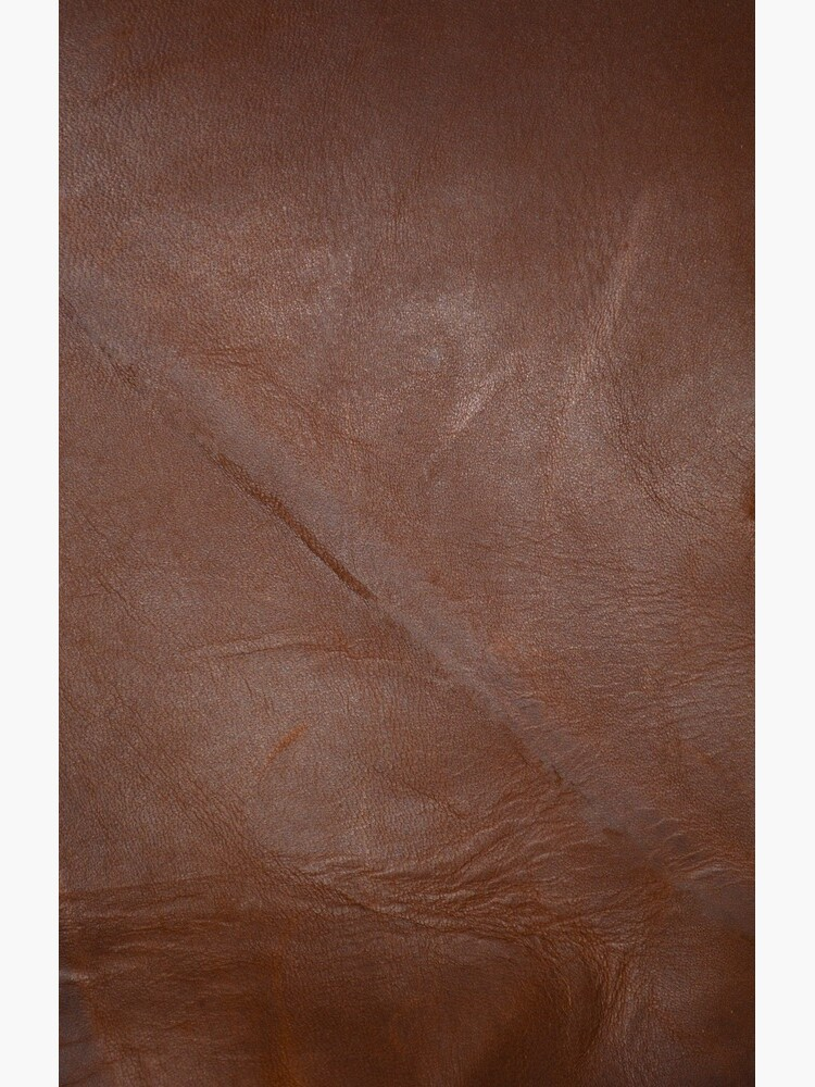 2D Photo-Sampling Faux Brown Leder-Effekt von RavenPrints