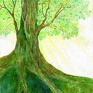 Light Tree by Rebecca Tripp