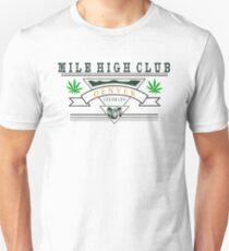"""Marijuana Denver """"Mile High Club"""" T-Shirt"""